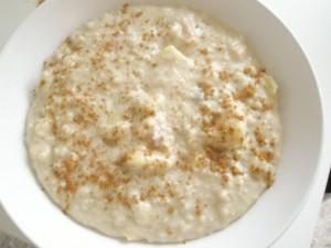 Plato de porridge