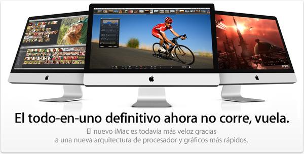 Nuevos iMac Julio 2010