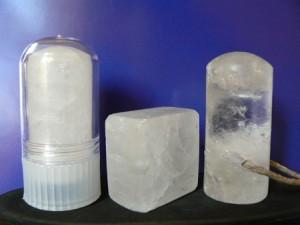 Piedras de alumbre de potasio