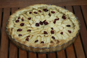 Tarta Manzana horneada