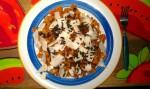 Pasta San Valentin con Queso de Cabra Bio y Algas Wakame