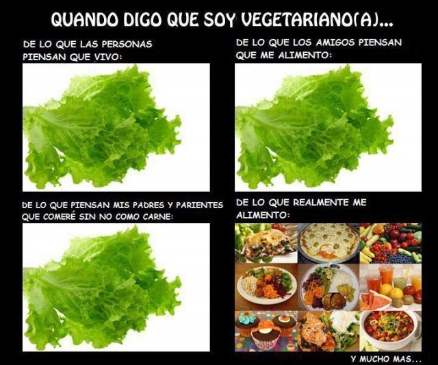 Cuando digo que soy vegetariano/a