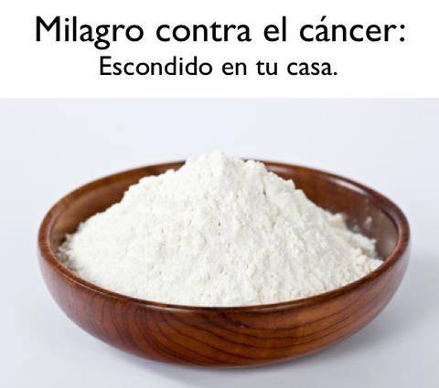 Milagro contra el cáncer - Bicarbonato de Sodio